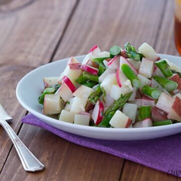 Asparagus Radish Potato Salad-Single Serving