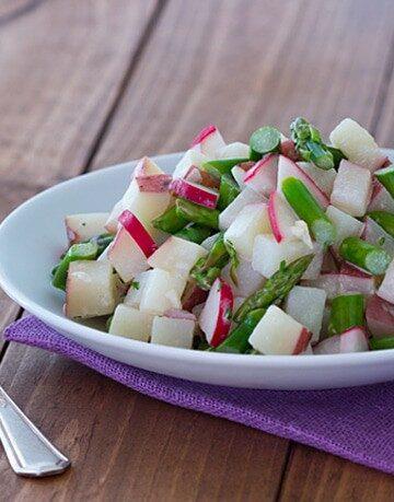 Asparagus Radish Potato Salad-Single Serving