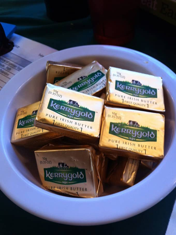 Single Serve Packages of Kerrygold Butter
