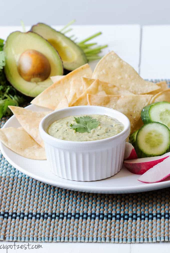 ... Greek yogurt go great together in this super creamy and versatile dip
