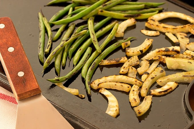 Charred Green Bean and Fennel Salad - Ingredients