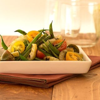 Charred Green Bean and Fennel Salad