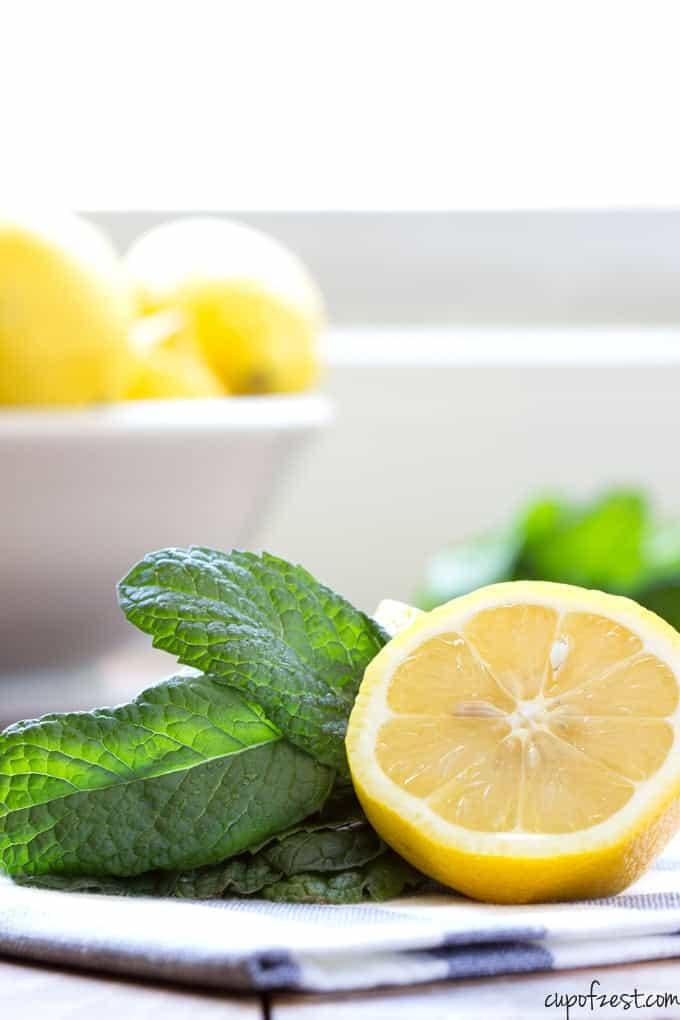 Mint Lemonade-Ingredients
