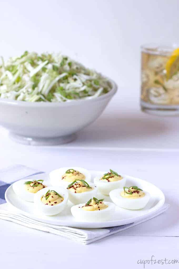 Tangy Deviled Eggs