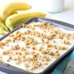 Banana Peanut Butter Cake