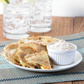 Spicy Chipotle Quesadillas