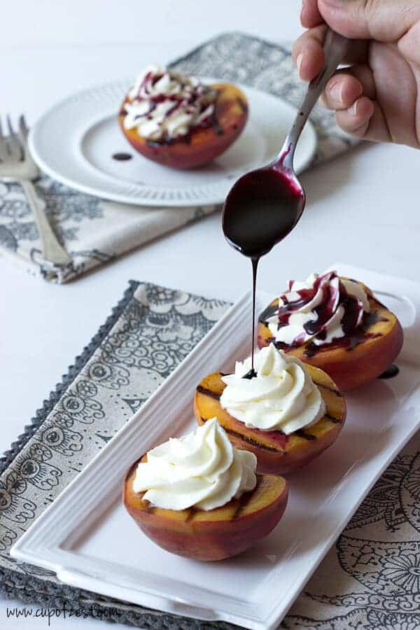 love grilled peaches! There are so many recipes out there for grilled ...