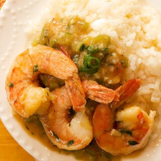 Shrimp Etouffee Above