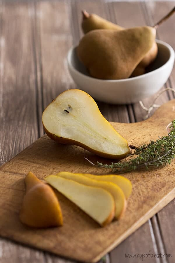Pears and Thyme