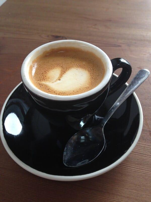 Macchiato at Acre Coffee