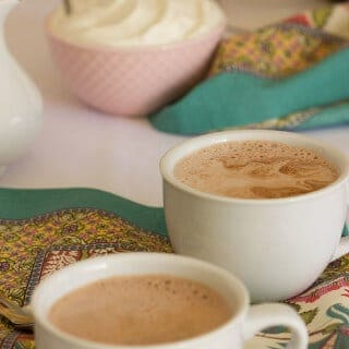 Salted Hot Chocolate