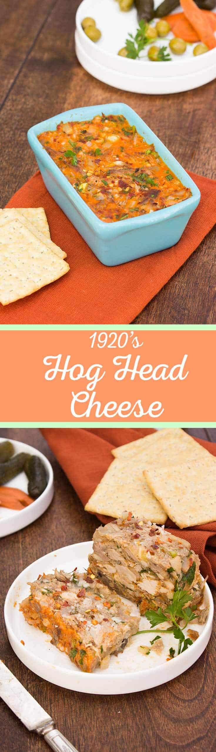 Hog Head Cheese - Long Pin