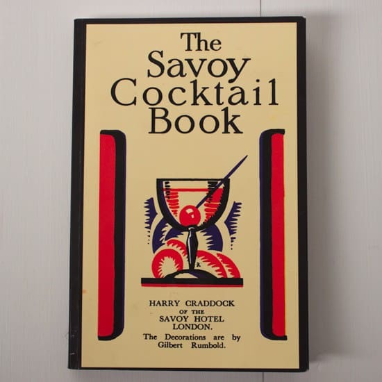 1930's Vintage Cookbook - The Savoy Cocktail Book