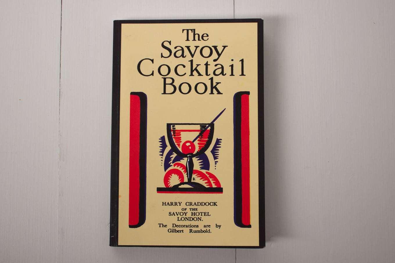 1930's Vintage Cookbook - The Savoy Cocktail Book