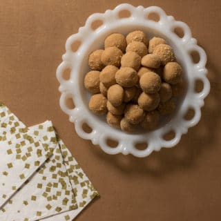 1950's No-Bake Peanut Butter Bites