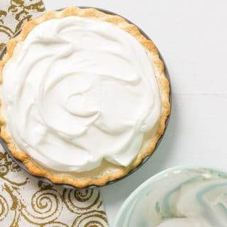 1940's Eggnog Chiffon Pie