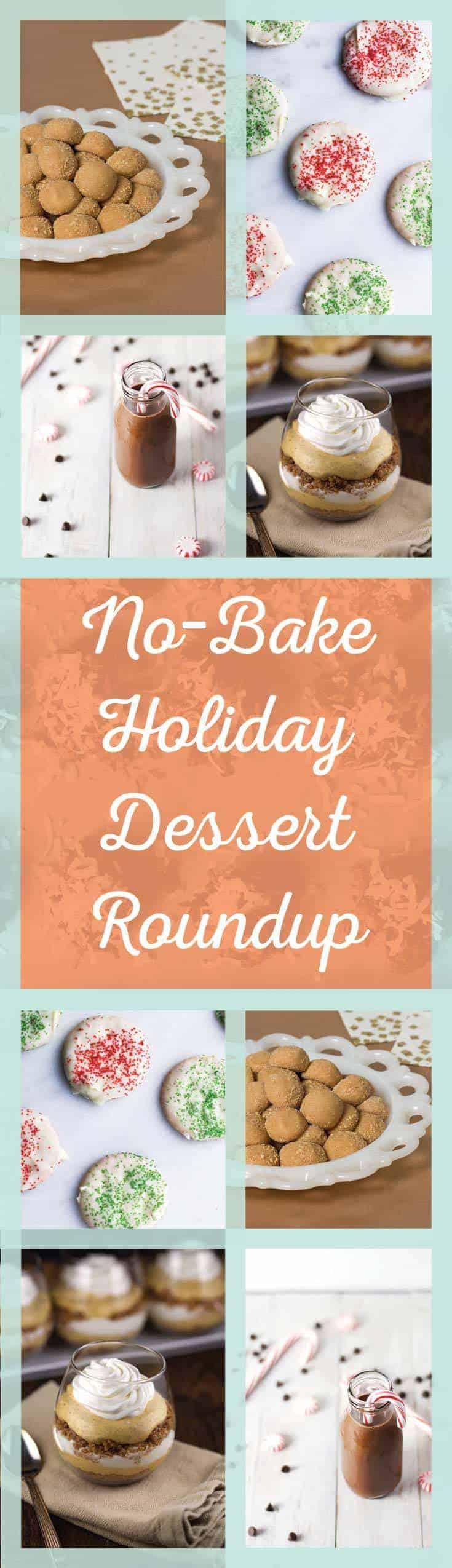 20 No-Bake Holiday Desserts | No Bake Desserts | Cup of Zest