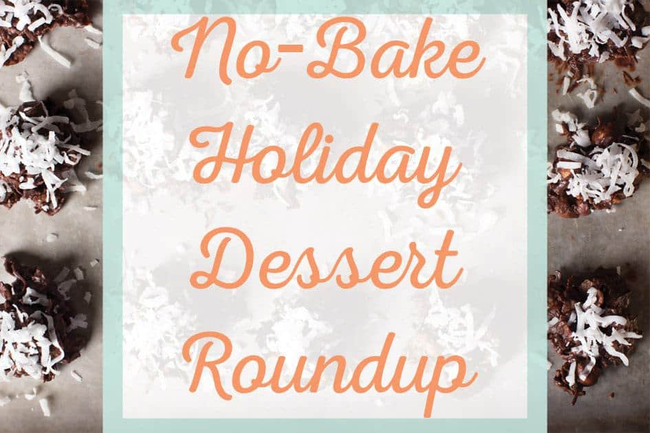 20 No-Bake Holiday Desserts Recipe Roundup - These 20 recipes are sure to make your life easier when you are in need of an easy dessert for the holidays! - cupofzest.com