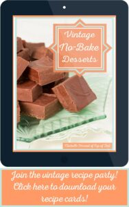 No-Bake Desserts Recipe Cards Cover