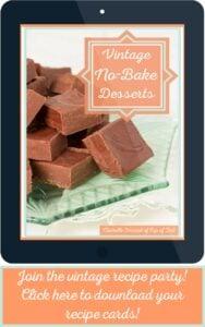 No-Bake Desserts Recipe Cards Cover